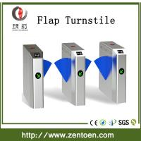 Quality factory price bridge type pedestrian turnstile stainless steel automatic flap for sale