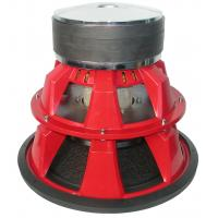Buy cheap Red 5000W Competition Car Subwoofers Pulp With Mica Foam Cone product