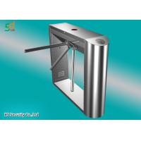 Buy cheap Hotel Barrier Tripod Turnstile Gate Access Control Systems RFID Turnstiles product