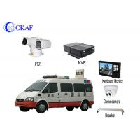 Vehicle Security Vehicle PTZ Camera System Anti - Shake Full HD 1080P Forensic System