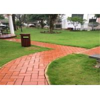 Buy cheap Outdoor Clay Paving Brick , Solid Interlocking Brick Pavers For Flooring product
