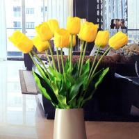 Buy cheap Wholesale Artificial Flowers Yellow Tulips product