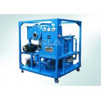 High Speed Vacuum Transformer Oil Purifier Machine With Dual Electronic Monitoring System