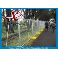 Buy cheap Metal Iron Chain Link Fence Temporary Fencing Panels Various Size / Color Acceptable from wholesalers