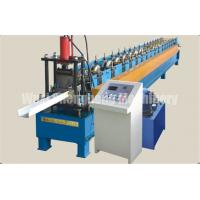 China Drainpipe Steel / Water Falling Tube Forming Machine Feeding Width 398mm on sale