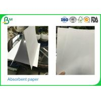 Buy cheap 0.3mm - 2.0mm Thickness Uncoated Absorbent Cardboard Paper Rolls For Making Placemat product
