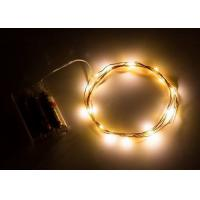 Buy cheap Indoor Battery Operated LED String Lights , Warm White Mini String Lights product