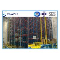 Buy cheap Steel Material Automatic Storage Retrieval System Intelligent Management Labour Saving product