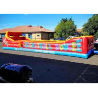 Buy cheap Inflatable Three Persons Bungee Run ,Flame Retardant Inflatable Sports Games from wholesalers