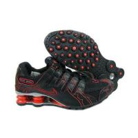 Buy cheap Novel Nike Air Shox NZ Black Silver Red from wholesalers