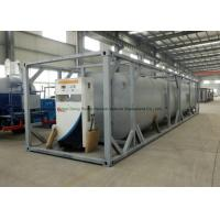 Quality Dong Run Refuel Tank Container 40 FT , ISO Mobile Gasoline Station Tank for sale