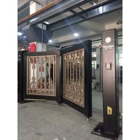 Buy cheap Powder Coated Automatic Swing Bi Folding Gate With Single Arm And Remote Control from wholesalers