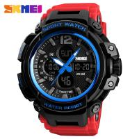 China newest men plastic fashion watch digital sports watches for men on sale