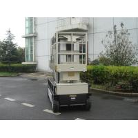 Buy cheap 10m  Four Mast Self Propelled Aerial Lift 300kg Capacity For Auto Stations product