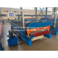 Buy cheap Corrugated Iron Sheets Roll Forming Machine product