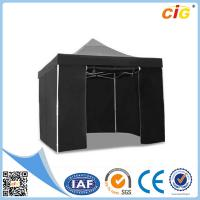 Buy cheap 3x3 Black Pop Up Outdoor Folding Gazebo Tent Market Party Marquee product