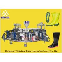 Buy cheap Automatic Plastic Shoes Injection Molding Machine For Rain Boots / Gumboots product