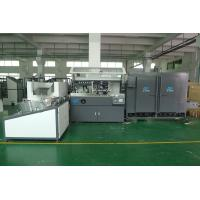 Buy cheap PET / PP / PE Plastic  Container Automatic Silke Screen Printing Machine 4000pcs / hr With IR Dryer product