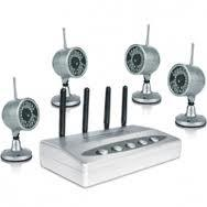 Buy cheap View 4 infrared Images Wireless CCTV Camera Systems CX-W802Z4 with 2.4ghz receiver product