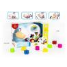 Buy cheap Educational Shape Sorting Matching Baby Blocks Toys Car Set 9Pcs PP Plastic from wholesalers