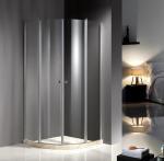 Buy cheap Chrome Profile 900X900 Quadrant Shower Enclosures , Clear Glass Shower Enclosures product