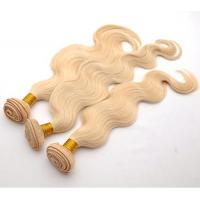 China 8A Grade Blonde 613 Hair Bundles Body Wave Brazilian Human Hair Weave on sale