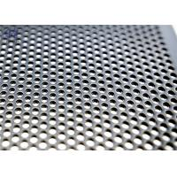 Buy cheap 1mm Hole Galvanized Perforated Metal Mesh Decoration Screen Door Mesh product