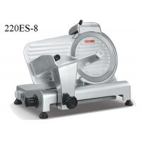 China Semi Automatic Food Preparation Equipments , Electric Frozen Meat Slicer With Sharpener on sale