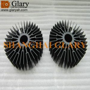 GLR-HS-443 150mm round aluminum extrusion heatsink profile, 5.91
