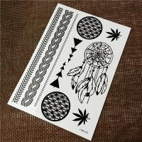 Buy cheap Waterproof Women'S Temporary Black Tattoo Stickers For Body Makeup product