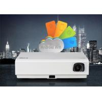 Buy cheap Commercial DLP Mini Smart Android Projector , 3LED Android Wifi Led Projector product