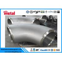 Buy cheap 90 Degree Butt Weld Elbow , Alloy Steel Incoloy 825 Fittings For Industries from wholesalers