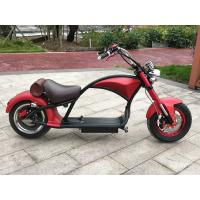 Buy cheap Handleber Acceleration Electric City Bike Aluminium Alloy Color Red 50km/h High from wholesalers