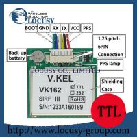 Buy cheap GPS engine board /Module with Antenna TTL G-Mouse Sirf IV U-blox MT3339 from wholesalers