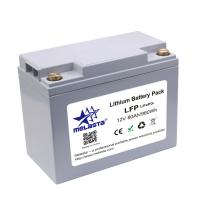 Buy cheap Rechargeable LiFePo4 battery pack 12V 80Ah 960Wh for solar energy product