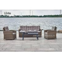 Buy cheap Indoor Outdoor Rattan Garden Table With Sofa Set For Poolside / Beach product