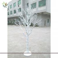 Buy cheap UVG DTR13 8ft artificial white dried tree decoration for party and wedding landscaping from wholesalers