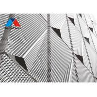 Buy cheap Contemporary Decorative Metal Screen For Office Building Wall Cladding product