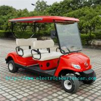 Buy cheap Fashion Red Electric Club Car Precedent Golf Cart ABS Plastic Body Material product