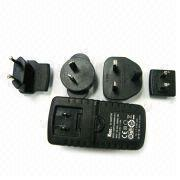 Buy cheap UL, UK, EU, AU interchangeable plug 3V - 24V 4A Universal AC Power Adaptor / Adapters product