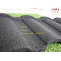 Buy cheap Aluminum Zinc Stone Coated Metal Roofing Tile In Red Black Green Brown product