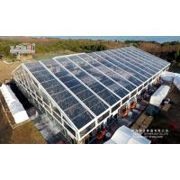 Buy cheap 50x70m Transparent PVC Roof Outdoor Event Tents Big Clear Span Tent from wholesalers