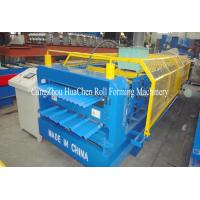 Buy cheap Popuar Size Metal Roof Double Layer Roll Forming Machine with Safe Cover product