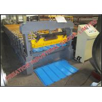 Buy cheap Fully Automatic Sheet Metal Rolling Equipment Metal Roofing Machine 15-20m/min product