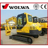 China  small 6Ton crawler excavator with reasonable price from wolwa for sale  for sale