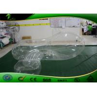 Buy cheap Transparent PVC Inflatable Shapes / Inflatable Aeroplane For Swimming Toy product