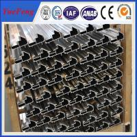 Buy cheap CNC/drilling/bended/OEM extruded aluminum profiles prices,aluminium profile system product