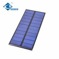 Buy cheap 11 Battery For Small solar Power Supply 0.9W 5.5V Home Solar Power System ZW-117554 product