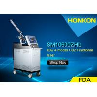 Buy cheap 10600nm Ultrapulse CO2 Fractional Laser Machine treatment for Vaginal mucosa layer product