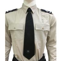 Cheap Long Sleeve Custom Security Shirts For Men , 65% Polyester 35% Cotton Materials wholesale
